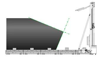 Cięcie 67,5°/22,5° na wylocie (trójniki)